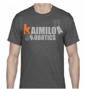 Kaimiloa Robotics Adult Shirt