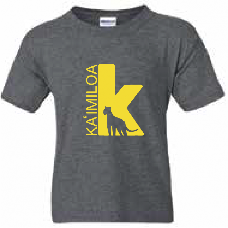 KES Uniform Dark Grey w/Yellow Logo